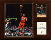 "NBA 12""x15"" Joe Johnson Atlanta Hawks Player Plaque"