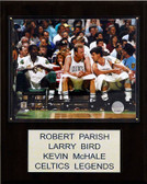 "NBA 12""x15"" Bird-Parrish-McHale Boston Celtics Player Plaque"