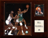 "NBA 12""x15"" Bill Russell Boston Celtics Player Plaque"