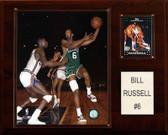 "NBA 12""x15"" Bill Russell Boston Celtics Player Plaque"