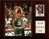 """NBA 12""""x15"""" Kevin McHale Boston Celtics Player Plaque"""