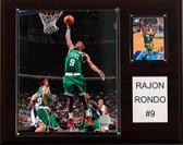 "NBA 12""x15"" Rajon Rondo Boston Celtics Player Plaque"