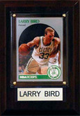 "NBA 4""x6"" Larry Bird Boston Celtics Player Plaque"