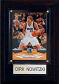 "NBA 4""x6"" Dirk Nowitzki Dallas Mavericks Player Plaque"
