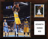 "NBA 12""x15"" Kenneth Faried Denver Nuggets Player Plaque"