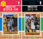 NBA Denver Nuggets Licensed 2013-14 Hoops Team Set Plus 2013-24 Hoops All-Star Set