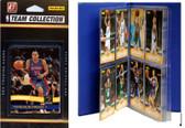 NBA Detroit Pistons Licensed 2010-11 Donruss Team Set Plus Storage Album