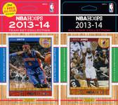 NBA Detroit Pistons Licensed 2013-14 Hoops Team Set Plus 2013-24 Hoops All-Star Set