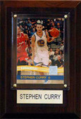 "NBA 4""x6"" Stephen Curry Golden State Warriors Player Plaque"