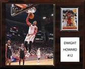 "NBA 12""x15"" Dwight Howard Houston Rockets Player Plaque"