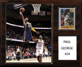 "NBA 12""x15"" Paul George Indiana Pacers Player Plaque"