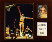 "NBA 12""x15"" Jerry West Los Angeles Lakers Player Plaque"