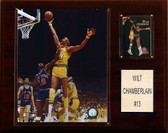 "NBA 12""x15"" Wilt Chamberlain Los Angeles Lakers Player Plaque"