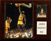 "NBA 12""x15"" James Worthy Los Angeles Lakers Player Plaque"