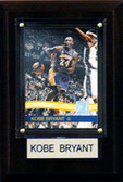 "NBA 4""x6"" Kobe Bryant Los Angeles Lakers Player Plaque"