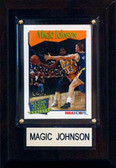 "NBA 4""x6"" Magic Johnson Los Angeles Lakers Player Plaque"