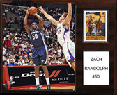 "NBA 12""x15"" Zach Randolph Memphis Grizzlies Player Plaque"