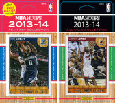 NBA Memphis Grizzlies Licensed 2013-14 Hoops Team Set Plus 2013-24 Hoops All-Star Set