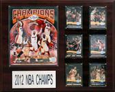 "NBA 16""x20"" Miami Heat 2012-2013 NBA Champions Plaque"