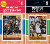 NBA Milwaukee Bucks Licensed 2013-14 Hoops Team Set Plus 2013-24 Hoops All-Star Set