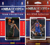 NBA Milwaukee Bucks Licensed 2014-15 Hoops Team Set Plus 2014-15 Hoops All-Star Set