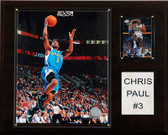 "NBA 12""x15"" Chris Paul New Orleans Hornets Player Plaque"