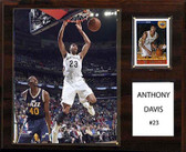 "NBA 12""x15"" Anthony Davis New Orleans Pelicans Player Plaque"