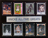 "NBA 12""x15"" New York Knicks All-Time Greats Plaque"