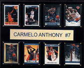 "NBA 12""x15"" Carmelo Anthony New York Knicks 8-Card Plaque"