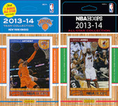 NBA New York Knicks Licensed 2013-14 Hoops Team Set Plus 2013-24 Hoops All-Star Set
