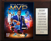 "NBA 12""x15"" Kevin Durant Oklahoma City Thunder 2013-14 MVP Plaque"