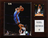 "NBA 12""x15"" Russell Westbrook Oklahoma City Thunder Player Plaque"