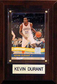 "NBA 4""x6"" Kevin Durant Oklahoma City Thunder Player Plaque"