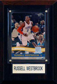 "NBA 4""x6"" Russell Westbrook Oklahoma City Thunder Player Plaque"