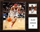 "NBA 12""x15"" Allen Iverson Philadelphia 76ers Player Plaque"