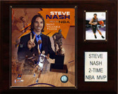 "NBA 12""x15"" Steve Nash 2 Time NBA MVP Phoenix Suns Player Plaque"