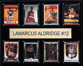 "NBA 12""x15"" LeMarcus Aldridge Portland Trail Blazers 8-Card Plaque"
