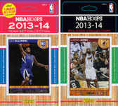 NBA Sacramento Kings Licensed 2013-14 Hoops Team Set Plus 2013-24 Hoops All-Star Set