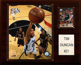 "NBA 12""x15"" Tim Duncan San Antonio Spurs Player Plaque"