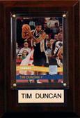 "NBA 4""x6"" Tim Duncan San Antonio Spurs Player Plaque"