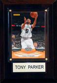 """NBA 4""""x6"""" Tony Parker San Antonio Spurs Player Plaque"""