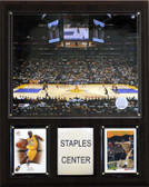 NBA 12x15; Staples Center Arena Plaque