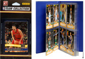 NBA Toronto Raptors Licensed 2010-11 Donruss Team Set Plus Storage Album