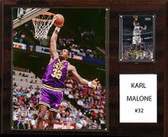 "NBA 12""x15"" Karl Malone Utah Jazz Player Plaque"