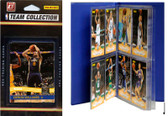 NBA Utah Jazz Licensed 2010-11 Donruss Team Set Plus Storage Album