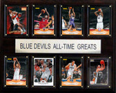 "NCAA Basketball 12""x15"" Duke Blue Devils All-Time Greats Plaque"