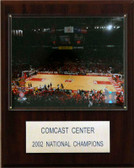 "NCAA Basketball 12""x15"" Comcast Center Stadium Plaque"