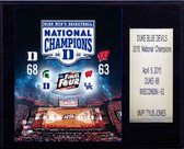 "NCAA Basketball 12""x15"" Duke Blue Devils 2015 National Champions Plaque"