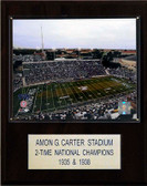 "NCAA Football 12""x15"" Amon G. Carter Stadium Stadium Plaque"