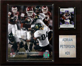 "NCAA Football 12""x15"" Adrian Peterson Oklahoma Sooners Player Plaque"